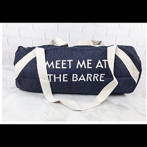 Private Party Gym Bag - Meet Me At the Barre